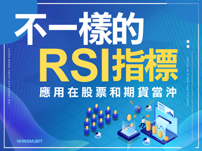 不一樣的RSI指標,應用在股票和期貨當沖上