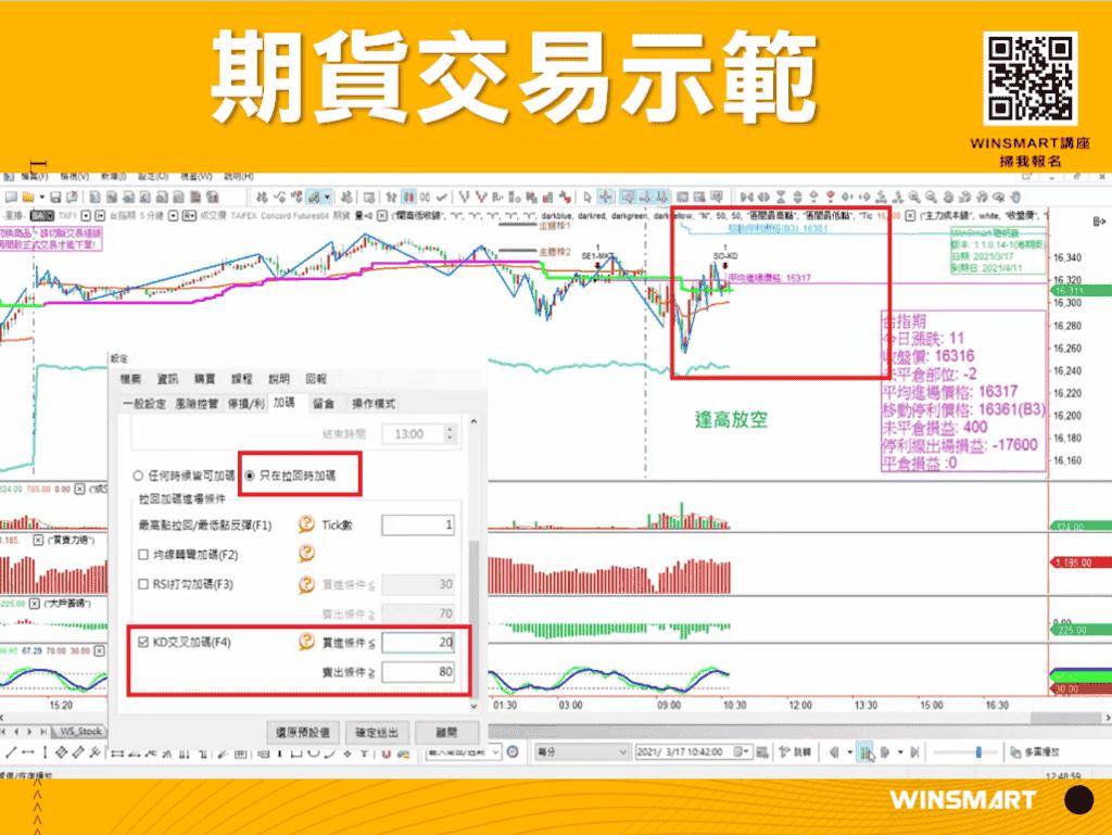10分鐘學會超好用KD指標,應用在股票和期貨交易_示範1