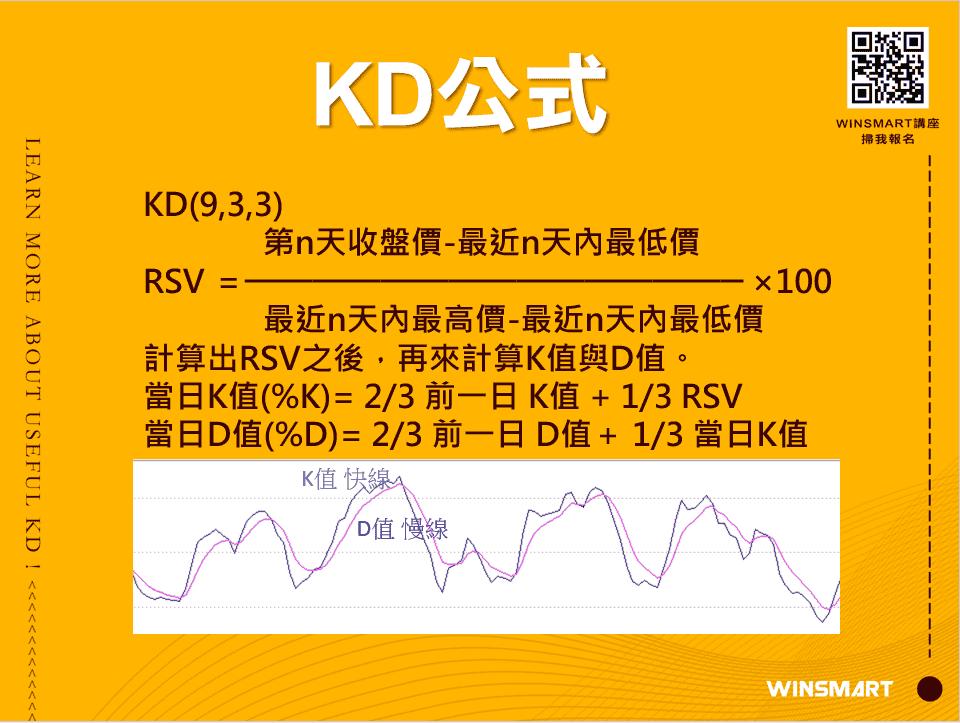 10分鐘學會超好用KD指標,應用在股票和期貨交易_KD公式