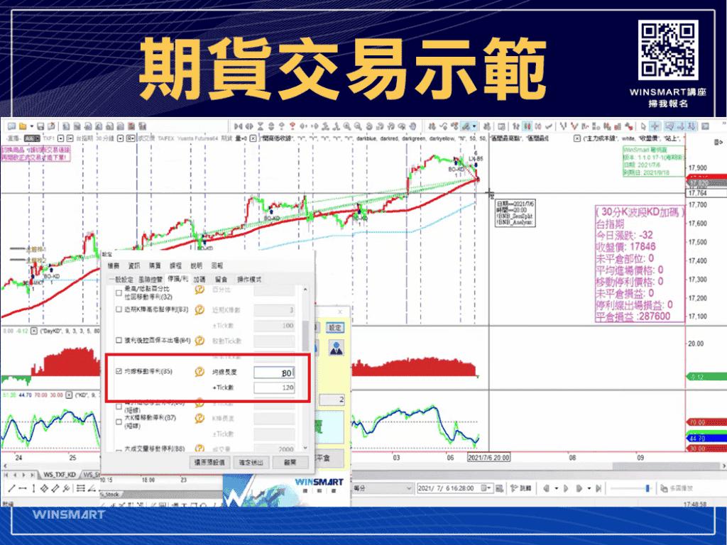 技術分析KD指標教學,交易強勢股大賺1波,用在台指期也犀利-_示範1